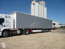 Krone Paper Liner Rideaux coulissants semi-trailer used tautliner