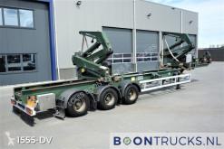 Félpótkocsi Hammar 195 S | SIDELOADER * 2x20-30-40-ft HC használt konténerszállító