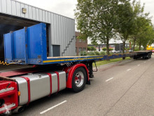 Trailer Broshuis 3 AOU-48 - 7,36M+7,77M EXTANDABLE - 3 STEERING AXLES tweedehands platte bak