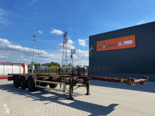 Semi remorque porte containers Krone 40FT HC, not extendable, empty weight: 5.350kg, BPW, liftaxle, MOT till 06/02/2021