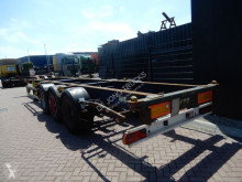 Renders container semi-trailer ROC 12.27 Chassis / 20 FT / 30 FT / 2x 20 FT / 40 FT