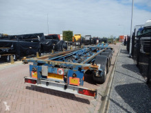 Semitrailer containertransport Renders RSCC Chassis / BPW axles