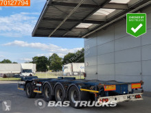D-TEC container semi-trailer Combitrailer 2x20-1x30-1x40-1x45 ft. Extendable