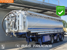Welgro 97 WSL 43-32 Blow / Suction 50,2 Ton 10 Comp. 2x Steeraxle semi-trailer used tanker