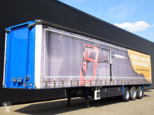 Sættevogn Floor FLO-17-27 / 3 ACHSE PRITSCHE / MOFFET KUPPLUNG glidende gardiner brugt