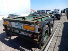 Semi remorque porte containers Van Hool 20 FT chassis / Steel Spring suspension