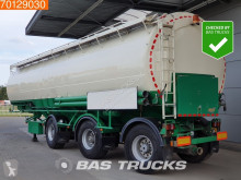 Welgro tanker semi-trailer 90 WSL 43-32 32 Ton / 11 Comp. / 2x Lenkachse