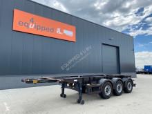 semirremolque Van Hool 20FT / 3-assen, leeggewicht: 3.300kg, SAF INTRADISC, 2x liftas, ADR, NL chassis