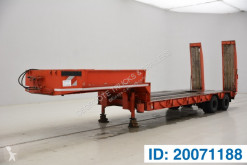 Robuste Kaiser Low bed trailer semi-trailer used heavy equipment transport