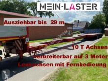 Goldhofer heavy equipment transport semi-trailer STZ -L5-55/80 Ausziehbar auf 29m 74.000 kg