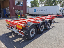 D-TEC FT-HD-S + ADR 3 assen SAF - Schijfremmen - Lift-as - Slangenkoker - Heavy Duty semi-trailer used