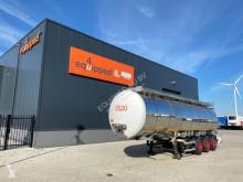 Chemical tanker semi-trailer 37.500L/3 comp/schommelschotten, ADR /APK: 12-2020, leeggewicht, 7.840 kg, 2x liftas, SAF Intradisc, NL-trailer, 4x beschikbaar