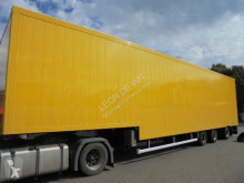 Floor heavy equipment transport semi-trailer