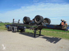 Netam 40 FT gooseneck chassis Steel suspension 8 tyres semi-trailer