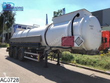 Semi remorque citerne Magyar Chemie 27500 Liter, Isolated tank, 50c, 4 bar
