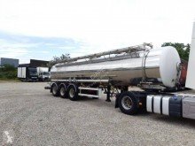 Maisonneuve semi-trailer used chemical tanker