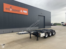 LAG 20FT/3-Achsen, Leergewicht: 3.160kg, BPW, ADR (EXII, EXII, FL, OX, AT), ALCOA, NL-Chassis. APK/ADR: 07/2021 semi-trailer