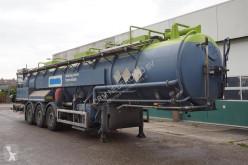 Naczepa Stokota Vacuum Tank Oplegger 28.500 Liter / ADR / Ecota Tank RVS / Eigen motor cysterna produkty chemiczne używana