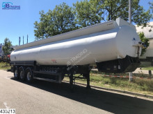 Merceron Fuel Alu tank, Alu chassis, 37000 Ltr, 0,45 Bar, disc brakes semi-trailer used tanker