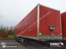 Used box semi-trailer Samro Fourgon express Porte relevante