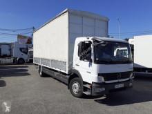 Mercedes tautliner semi-trailer