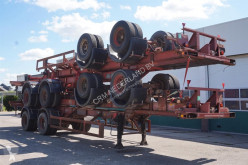 Semi reboque Ackermann Container chassis 2-assig / 40ft. / Full Steel porta contentores usado
