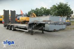Goldhofer heavy equipment transport semi-trailer STN-L3-36/80, doppelte hydr. Rampen/Lenkachse