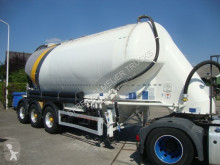 Feldbinder silo 3 axel with dust filter semi-trailer used tanker