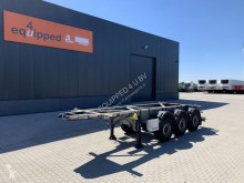 Semi remorque Van Hool 20FT/3-axles, empty weight: 3.280kg, SAF INTRADISC, ADR (EXII, EXII, FL, AT), NL-Chassis, APK/ADR: 02/2021 occasion