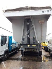 Trouillet TP MAX semi-trailer used construction dump