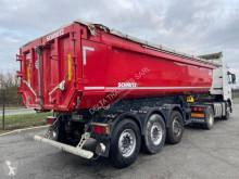 Semi remorque benne Schmitz Cargobull SKI 25m3 Acier portes universelles
