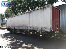 Trailer Fruehauf open laadbak Steel suspension tweedehands platte bak