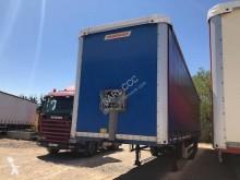 Fruehauf baché CF 248 RC semi-trailer