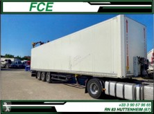 Semi remorque fourgon Schmitz Cargobull SCB-S3B *ACCIDENTE*DAMAGED*UNFALL*