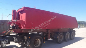 semiremorca Carnehl BPW-AXLES / CHASSIS FROM STEEL / TIPPER FROM ALU