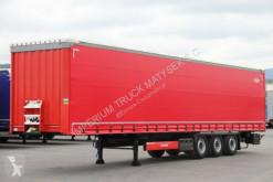 Sættevogn Krone CURTAINSIDER /STANDARD/LIFTED AXLE / XL CERT/ palletransport brugt
