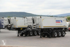 Semirimorchio centinato alla francese Schmitz Cargobull TIPPER 26 M3 / 5600 KG / LIFTED AXLE / NEW TIRES