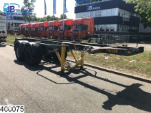 Semi remorque porte containers IWT Container 20 Foot container chassis, Steel suspension