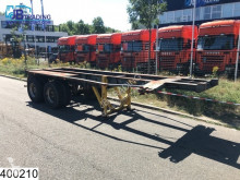 Semi remorque IWT Container 20 FT, container chassis, Steel suspension porte containers occasion
