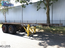 Semi remorque IWT Container 20 Foot container chassis, Steel suspension porte containers occasion