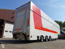 Semitrailer Berdex OS 12.21 - 9000kg Laadklep - 3-Stuurassen - Hydraulische Hefplateau en DAK! - 07/2021APK kylskåp mono-temperatur begagnad