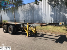 IWT Container 20 Foot container chassis, Steel suspension semi-trailer used container