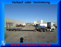 semi remorque Goldhofer 4 Achs Tiefbett- Satteltiefladerheb und senkbar