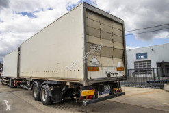 Used container semi-trailer Trouillet PORTE CONTAINER - TANDEM