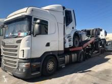 Louault car carrier semi-trailer