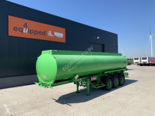 Semi remorque citerne NEW Fueltanker, 35.000L/2-comp. NO DOCUMENTS