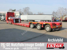 Faymonville flatbed semi-trailer