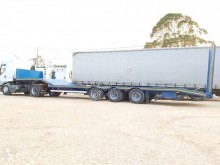 Castera semi-trailer used heavy equipment transport