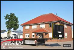 Semitrailer platta Krone SD 27, Plattform, Stahlmatte, Liftachse, Scheibenbremse