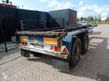 Semiremorca Renders 20 FT Chassis / Steel suspension / BPW transport containere second-hand